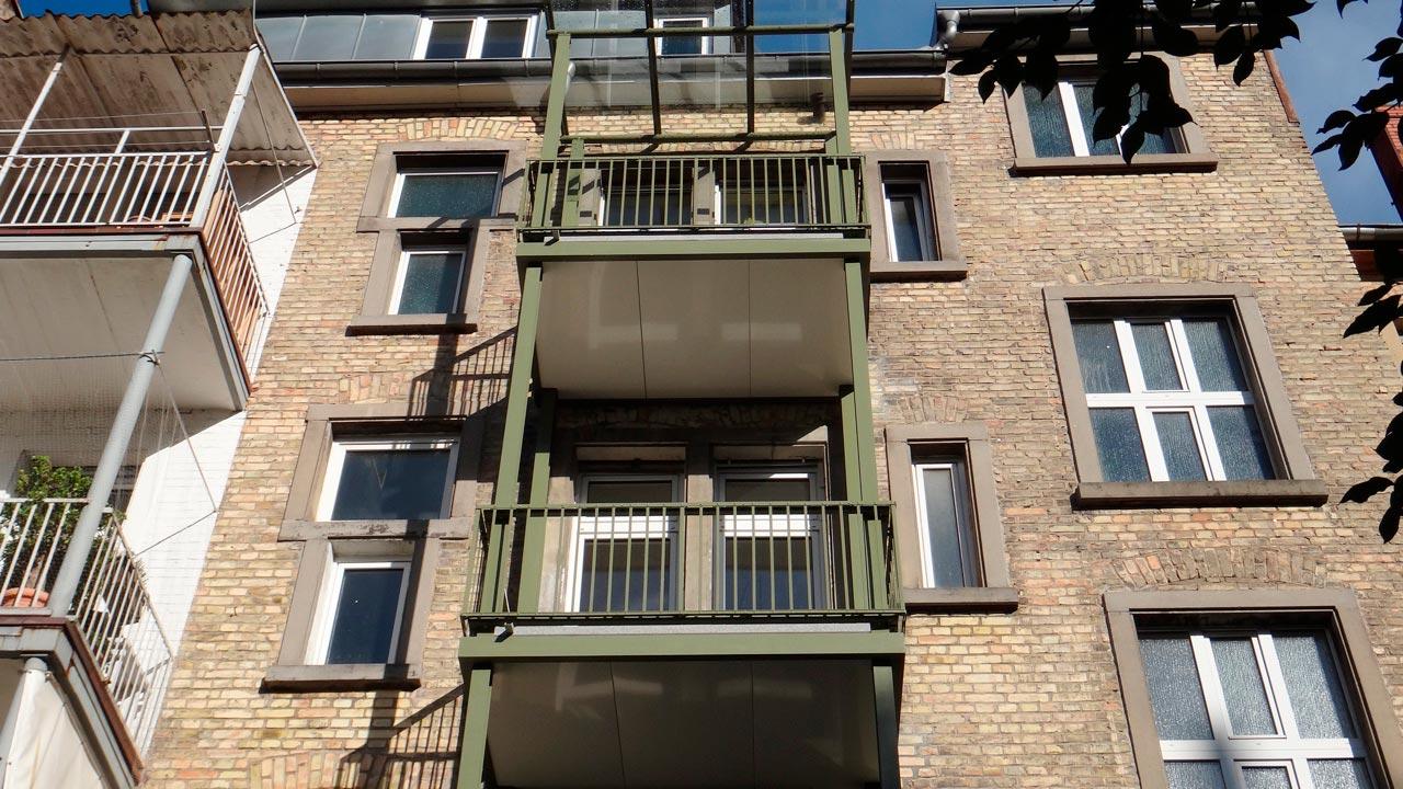 Balkonkonstruktion